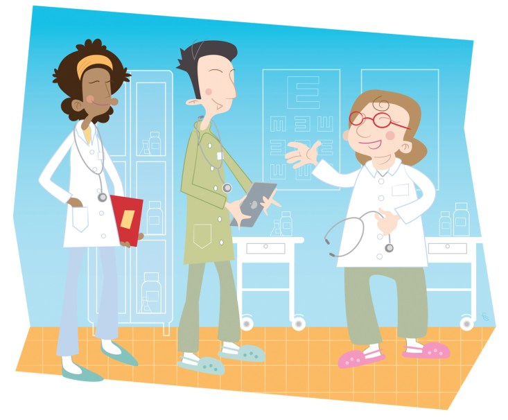"""Illustrations for """"With mentoring to success"""" project by Finnish Ministry of Employment and the Economy, 2014"""