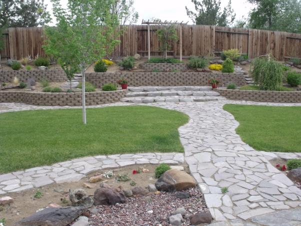 Rectangular Backyard Landscaping Ideas PDF on Rectangular Backyard Design id=54409