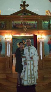 Fr. Peter Rizos & Presbytera Alexandra