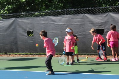 Tennis Summer Camp 2019 - Learning tennis strokes