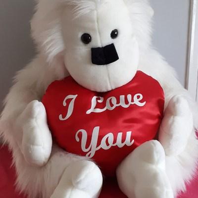Huge 'I Love You' Monkey