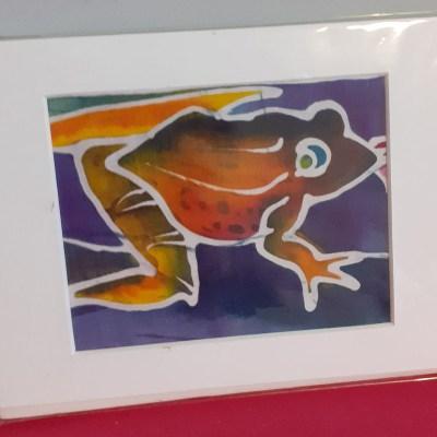 Batik Frog