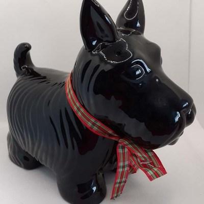Scottie Dog Ceramic Ornament