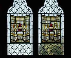 Glass in Choir Vestry