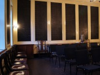 St Giles Vestry Room - arranged for meeting