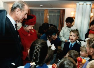 the State Visit of Her Majesty and His Royal Highness to Moscow and St Petersburg, 1994.
