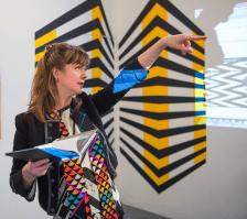 Emma Neuberg at The Geometrics: Volume 1