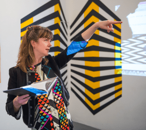 Emma Neuberg at The Geometrics: Volume 1
