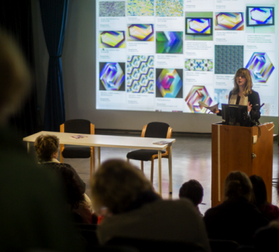 Dr Neuberg talks about The Geometrics and their role in the Slow Textiles Group