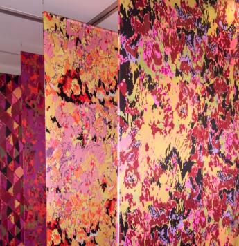 Emma Neuberg, Drapes, 1000cm x 600cm x 350cm, polyester, 2016