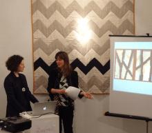 Alexandra Gerstein and Emma Neuberg, Slow Textiles Group, 2013
