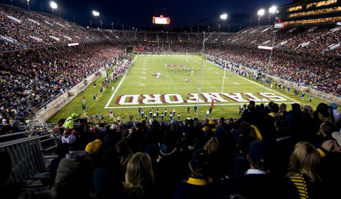 Home of the Stanford Cardinal Stanford Stadium