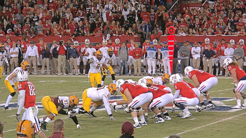 UA Wildcats vs ASU Sun Devils football game