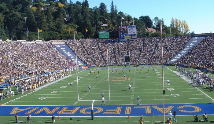 football game at California Memorial Stadium