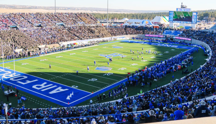 Air Force Falcons football game