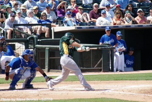 Athletics vs royals baseball game