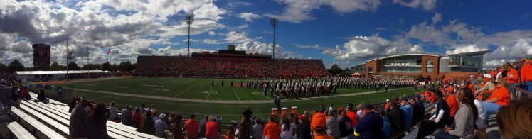 Home of the BGSU Falcons Doyt Perry Stadium