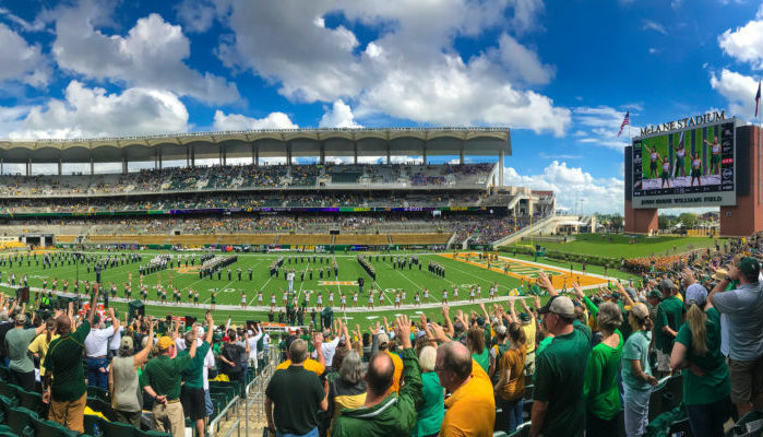 Baylor Bears football game