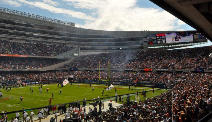 Soldier Field Chicago Bears football game