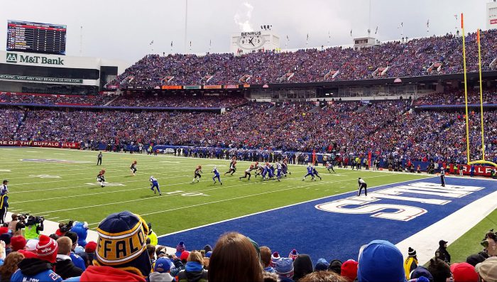 Buffalo Bills game at New Era Field