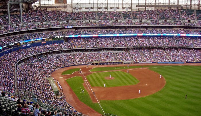 Miller Park home of the Milwaukee Brewers