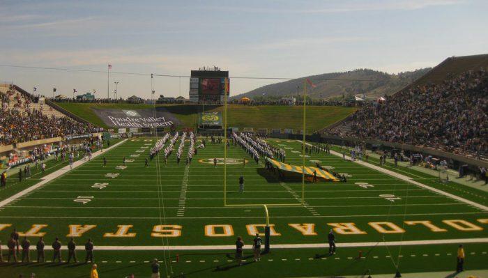 Colorado State Rams football game at Canvas Stadium