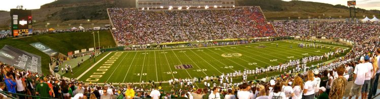 Home of the Colorado State Rams Canvas Stadium