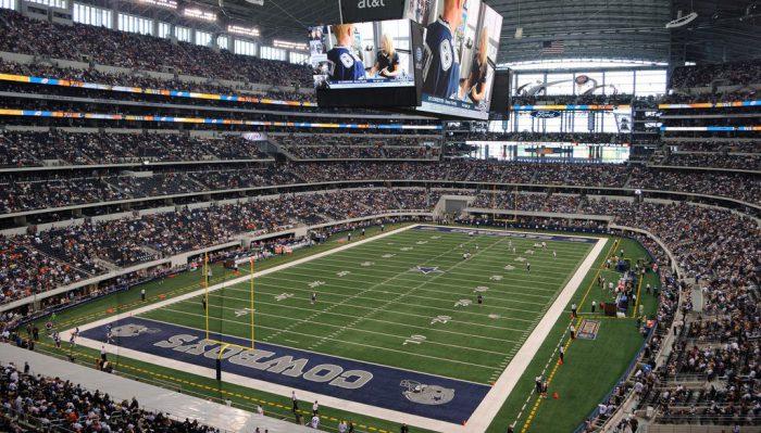 Dallas Cowboys game at AT&T Stadium
