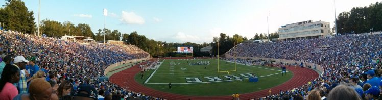 Home of the Duke Blue Devils Wallace Wade Stadium