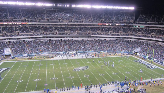 Philadelphia Eagles game at Lincoln Financial Field