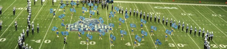 Georgia State Panthers marching band