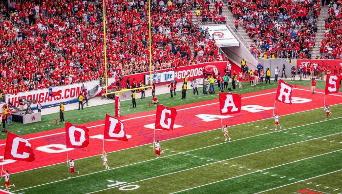 Houston Cougars football game
