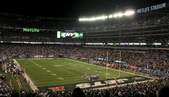 New York Jets game at MetLife Stadium