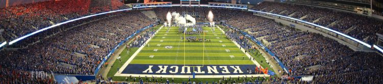 Commonwealth Stadium Home of the Kentucky Wildcats