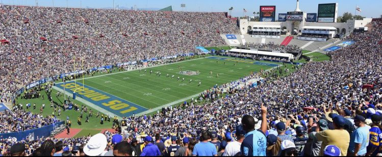 LA Rams Los Angeles Memorial Coliseum