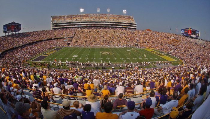 Home of the LSU Tigers Tiger Stadium