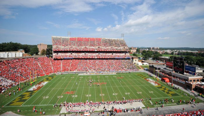 Maryland Terrapins football fans on gameday