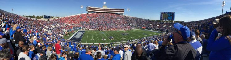 Home of the Memphis Tigers Liberty Bowl Memorial Stadium