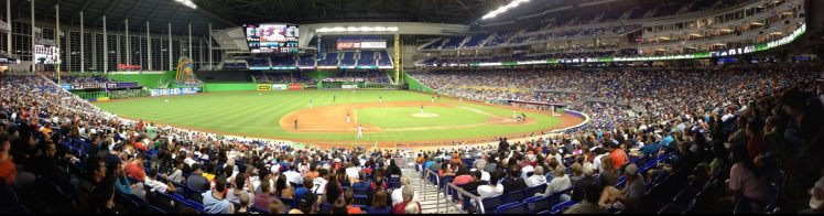 Marlins Park panoramic view