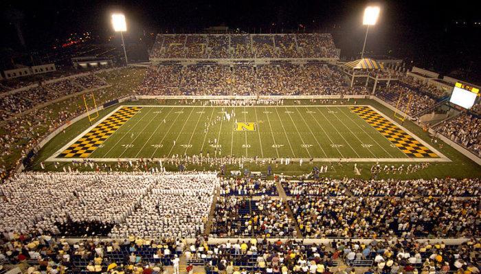 Navy Midshipmen stadium football