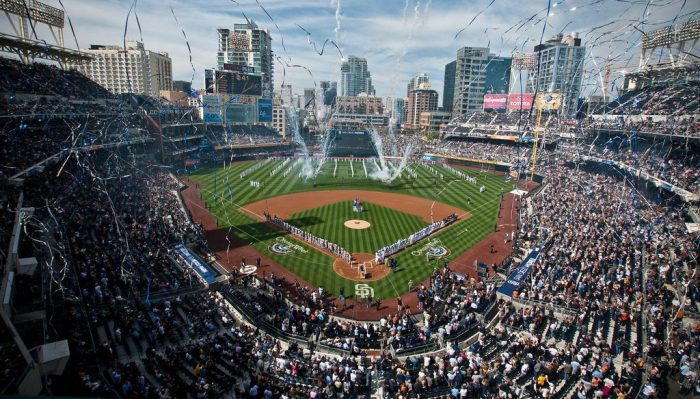 San Diego Padres Home Opener Celebration