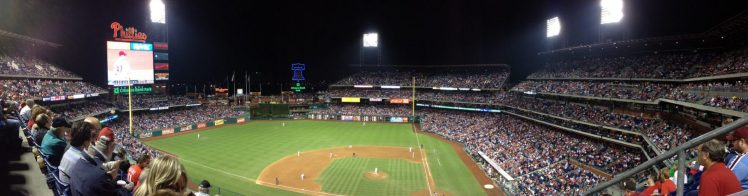 Panoramic view of Citizens Bank Park