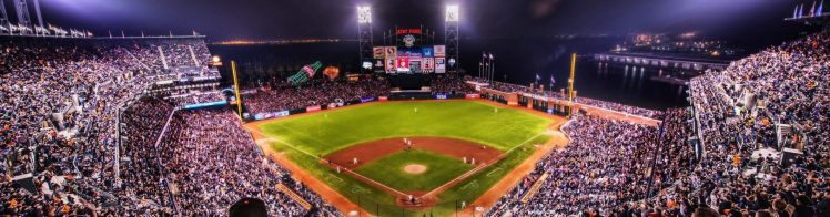 panoramic view of Oracle Park