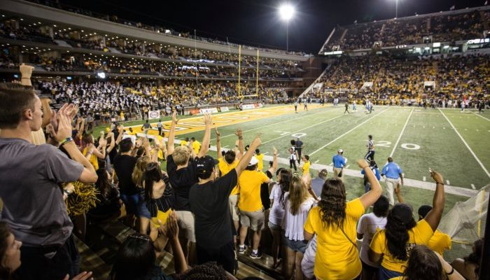 Southern Miss Golden Eagles football game