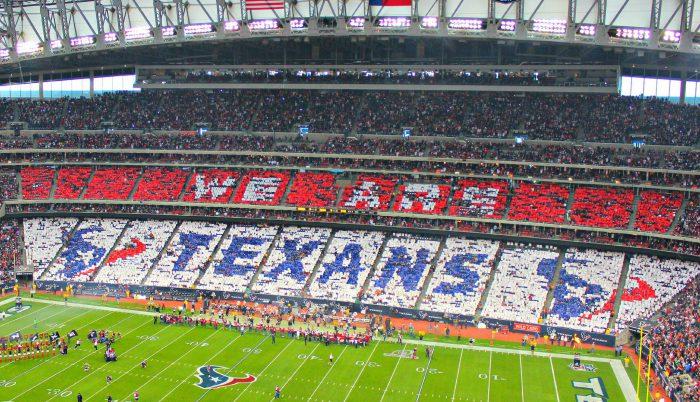 Houston Texans fans at NRG Stadium