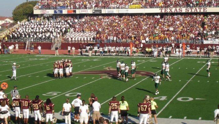 Texas State Bobcats football game