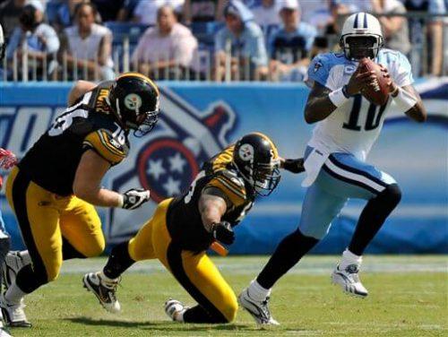 Titans vs Steelers football