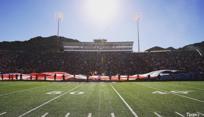 UTEP Miners Sun Bowl Stadium