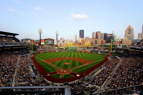 View of Downtown PNC Park
