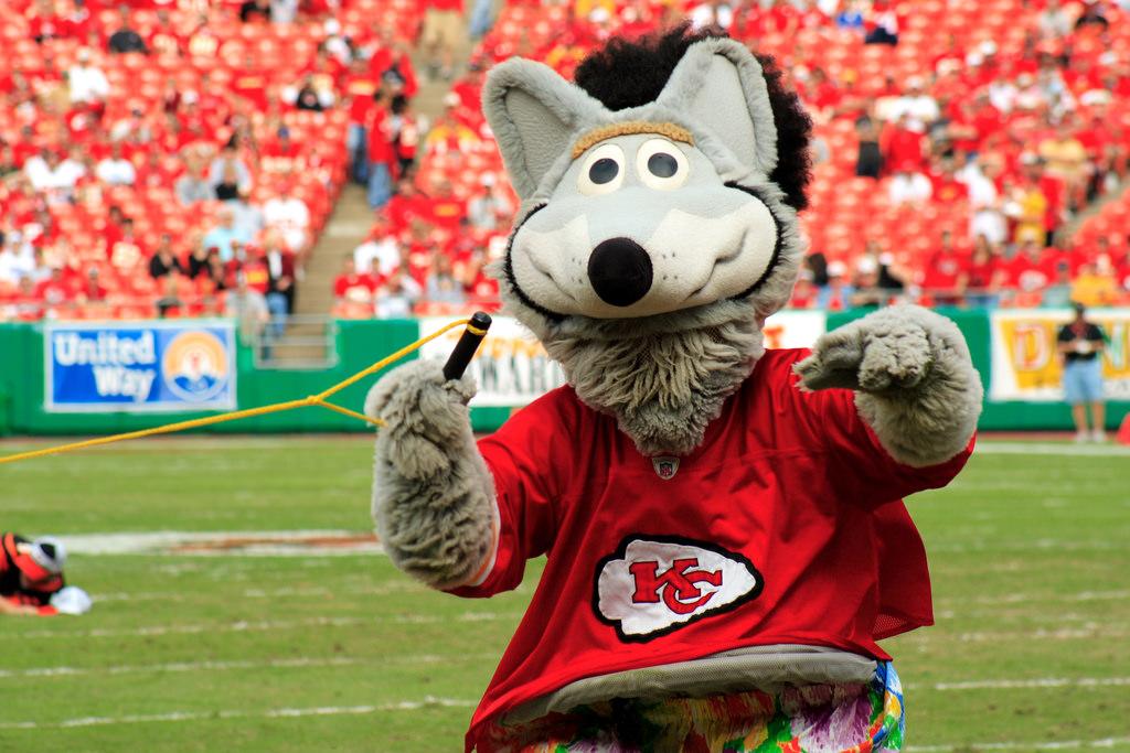 KC Wolf Kansas City Chiefs mascot